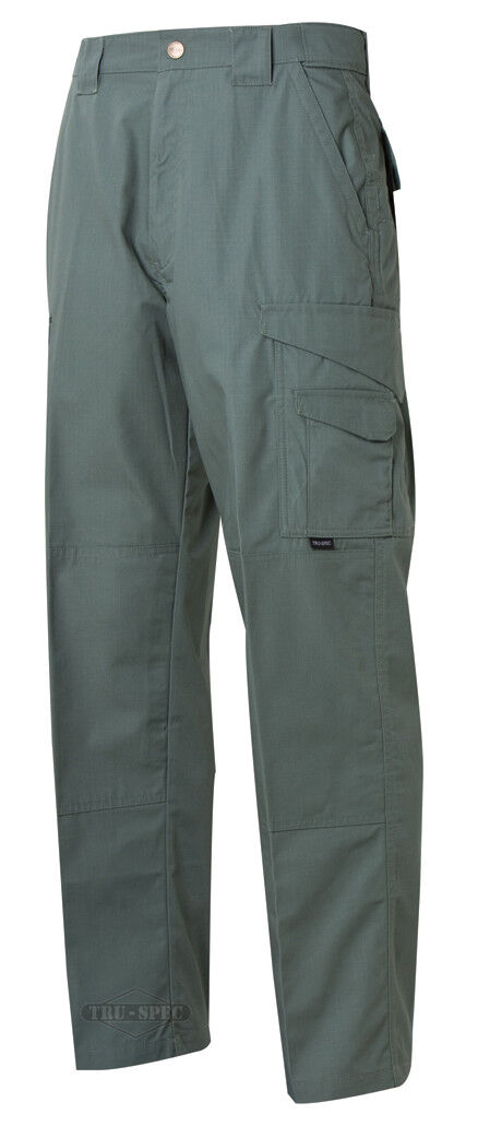 TRU-SPEC 24-7 Series Mens Tactical Pants 65 35 Poly Cotton Rip-Stop Olive Drab