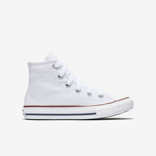 3J253 Hi Converse Youth CT All Star Optical White Canvas High Top SIZES