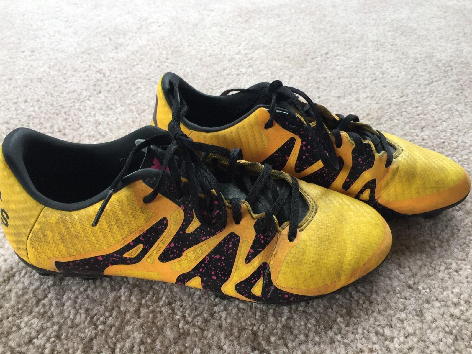 fada1cde6 Adidas Performance X 15.3 FGAG J Soccer Shoe (Big Kid) Size 4.5