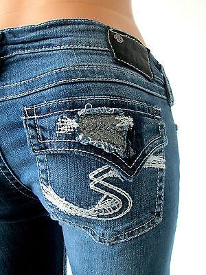 Silver Jeans Low Rise Light Pioneer Bootcut Jean 24 25 26 27 28 29 30 31 32 33