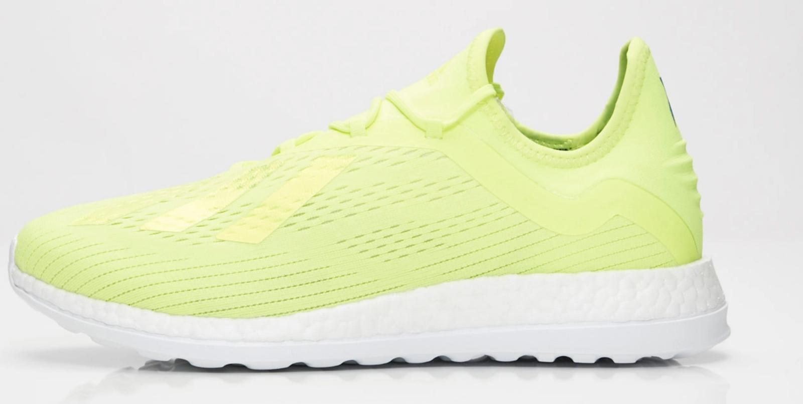 Nouveau Adidas World Cup X 18+ TR BB7421 Football Solar jaune Ice chaussures jaunes n1
