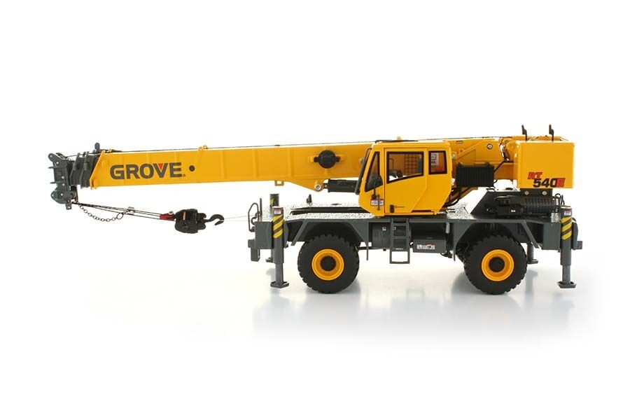 GROVE RT540E grue -  Jaune  - 1 50 - TWH Towsley's  TOS002