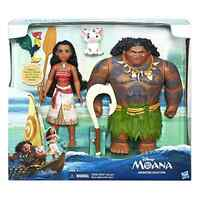 Moana Adventure Collection Disney With Doll Outfit 3 Figures And 3 Accessories
