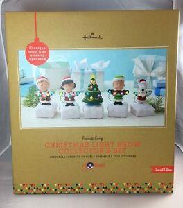 Hallmark Peanuts Gang Christmas Light Show Collector's Set Special ...