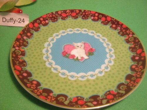 Frühstücksteller 20,5 cm Katze Sweet Cat  Eva Maria Nitsche von Goebel