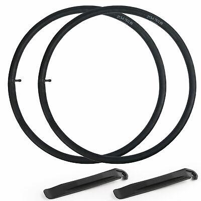 """2 Pack 27.5/"""" Schrader Valve MTB Bike Inner Tubes 27.5x2.125//2.4 Bicycle Tube"""