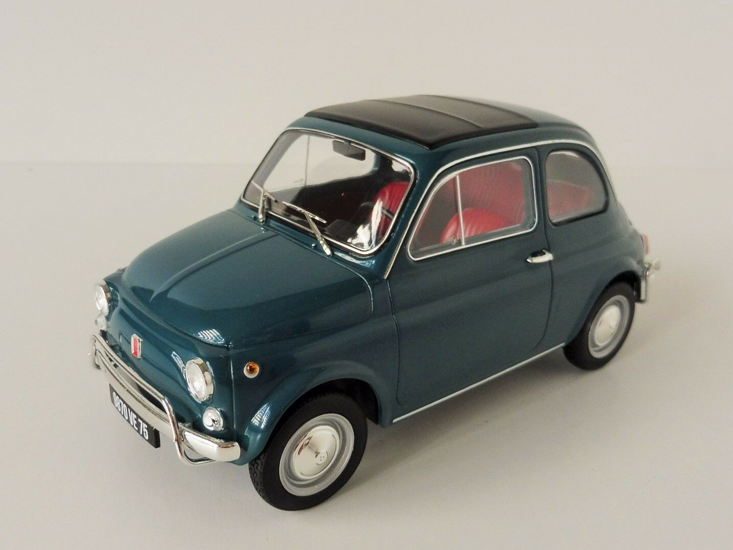Fiat 500 L 1968 1 18 NOREV 187770 500 Cinquecento bleu Turchese Turquoise