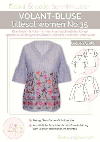 Lillesol Women no35 volant-blusa