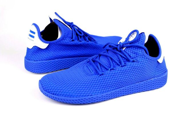 size 40 7b5ad 10311 ... low price adidas pharrell williams pw tennis hu human race blue mens  size 12 us nib