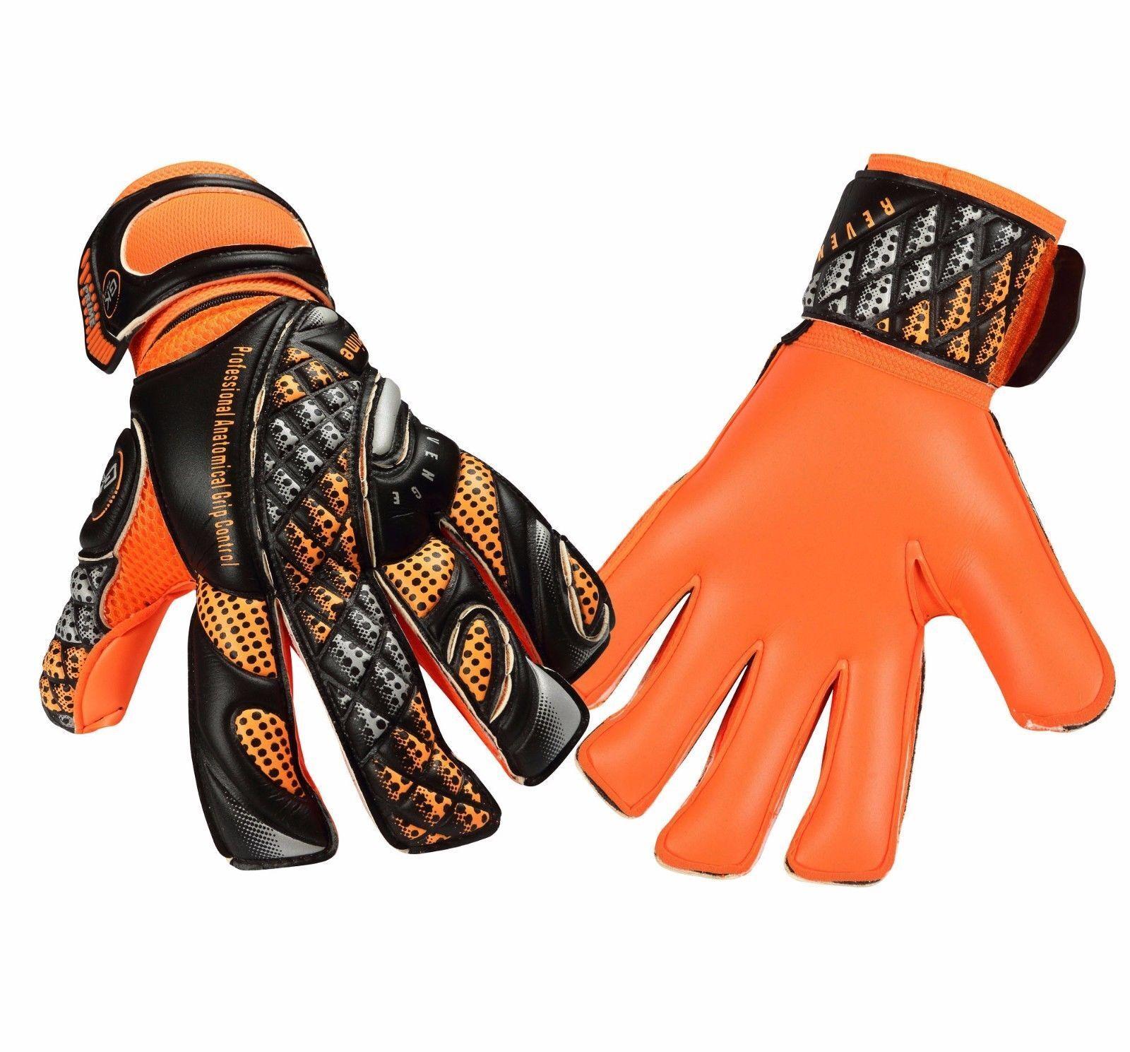 Fútbol Portero Guantes Gk Saver Prime PR04 guantes dedo guardar portero plana