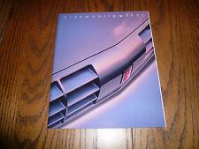1991 Oldsmobile 88 98 Cutlass Achieva Cutlass Cruiser Bravada Sales Brochure