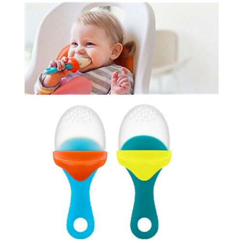 Boom Pulp Baby Feeder /& Teether Child Weaning Fruit Veg Food Dispenser BPA FREE
