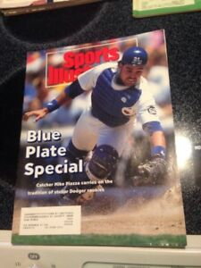 SPORTS-ILLUSTRATED-MIKE-PIAZZA-LOS-ANGELES-DODGERS-SI-1993-July-5