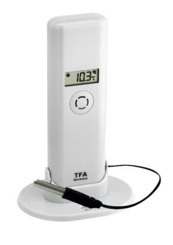 TFA 30.3313.02.99 Temperatursender mit Temperaturbremse Kabelsonde digital