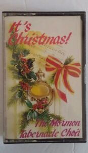 It-039-s-Christmas-The-Mormon-Tabernacle-Choir-Cassette-Holiday-Tape