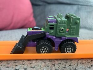 Matchbox RoadBlasters Vehicle Part Back Stabber Red Missiles Gun Accessory 1987