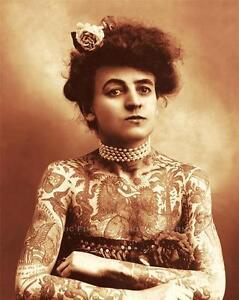 OLD WEST FEMALE TATOO ...