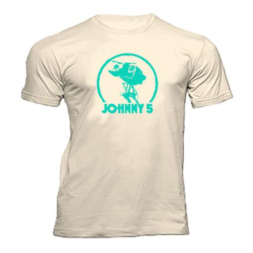 SHORT CIRCUIT JOHNNY 5  T SHIRT
