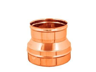 Save riduzione canna fumaria Ø 150 mm femmina uscita Ø 130 mm maschio F//M
