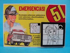 EMERGENCY-DIXIE-McCALL-Julie-London-SLIDE-SLIDING-PUZZLE-GAME-ARGENTINA