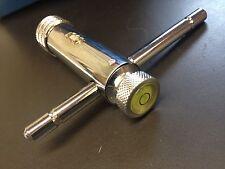 """NEU! Werkzeughalter m. Knarre UND Libelle, kurz M5-M12 - 7/32""""-1/2"""", R/L,"""