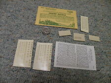 NW HO SCALE DECALS HC-467 RED CABOOSE CHAMP NORFOLK /& WESTERN