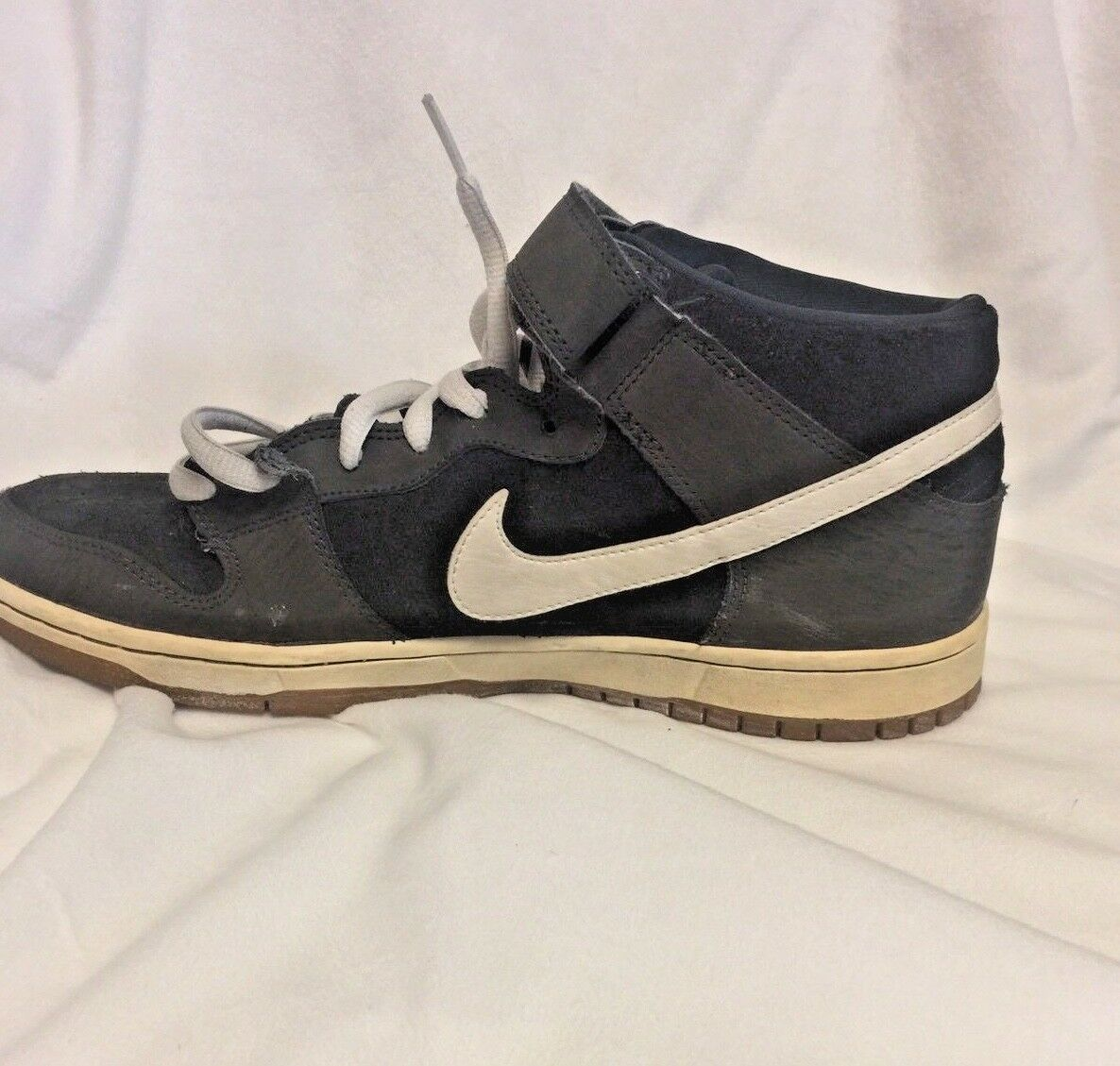 Nike DUNK MID MID MID PRO SB Size 10.5 Grey White 88a97a
