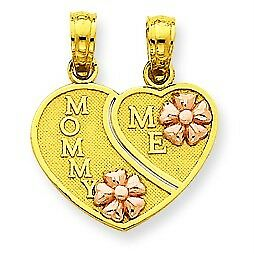 Mommy and Me Flower Rose Necklaces