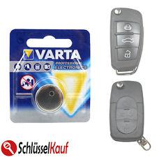 VARTA Autoschlüssel Schlüssel Batterie für AUDI Klappschlüssel A3 A4 A5 A6 A8 TT