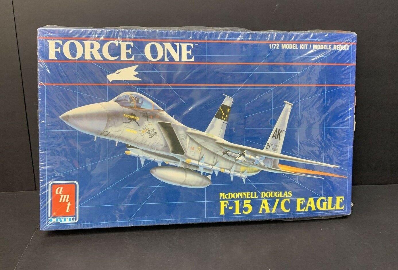 Mcdonnell douglas f 15 mini skirts Toys Hobbies Amt 8694 1 72 Force One Mcdonnell Douglas F 15 A C Eagle Airplane Kit 1990 For Sale Online Models Kits