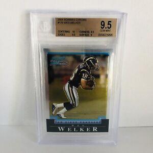 Wes-Welker-2004-Bowman-Chrome-BGS-9-5-Gem-Mint-Rookie-Card-RC-HOF-Bound
