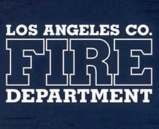 Los Angeles County Fire Department T-shirt - Size XL