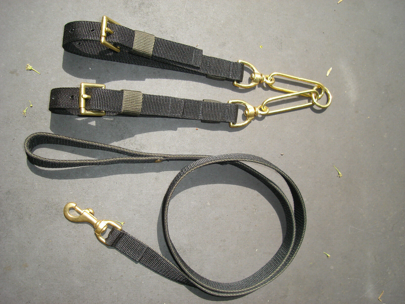CO9 Cinghia CANE COLLARE COPPIE & Lead Set 1 Terrier  patterdale  Lavoro Russell