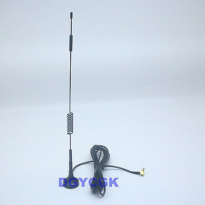 UMTS//GPRS//4G//LTE WIFI Antenna 5dBi CRC9 male 700-2600Mhz for Mobile USB Modem