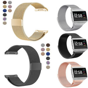 Milanese-Loop-Mesh-Wrist-Watch-Band-for-Fitbit-Ionic-Stainless-Steel-Metal-Strap