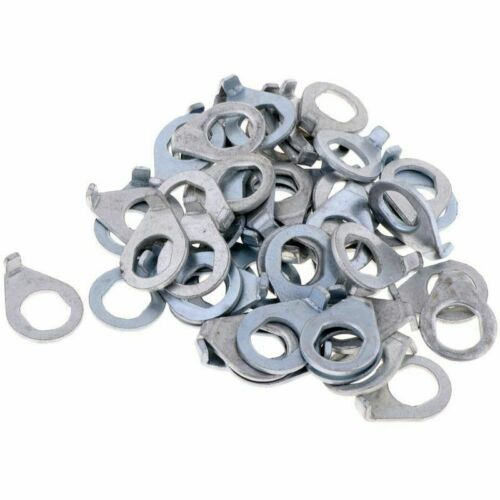 50Pcs Safety Durable Bike Hub Retaining Clip Washer Hook for Bicycle Front Wheel