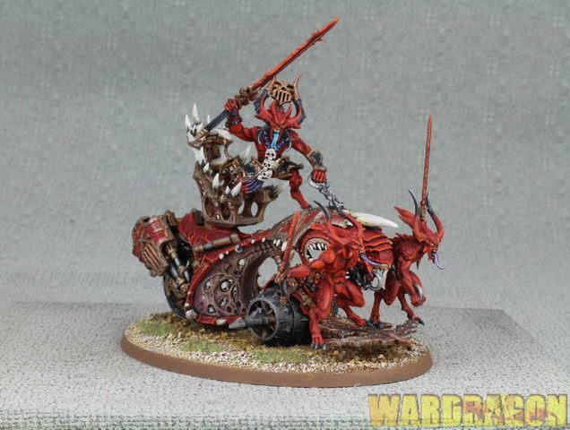 25mm Warhammer 40K WDS painted Daemons Of Khorne Bloodthrone d5