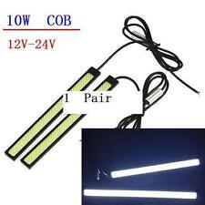 1 pair 10W Samsung COB led White 180mm waterproof day time running fog light