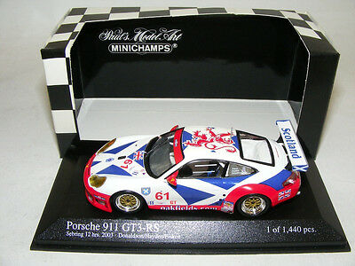 1/43 Minichamps Porsche 911 GT3 RS from 2003 12 Hours of Sebring car #61