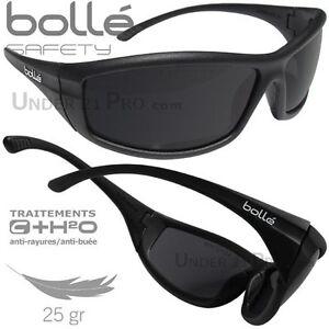 lunettes de protection boll safety solis ii soleil homme sport ski conduite ebay. Black Bedroom Furniture Sets. Home Design Ideas