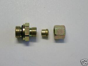 Schneidringverschraubung 8mm X 3 8 Klemmringverschraubung F