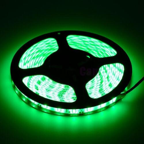 Green 5M 16.4ft Waterproof 300 LED 5630 SMD Flexible LED Light Lamp Strip DC 12V