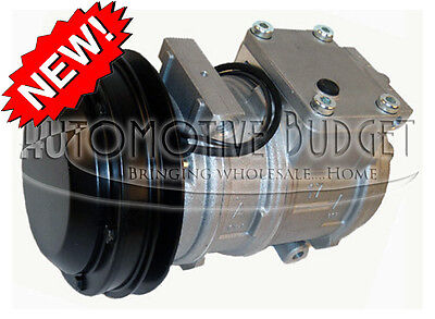 A//C Compressor w//Clutch for John Deere NEW 10PA17C 1GR 146mm 24v