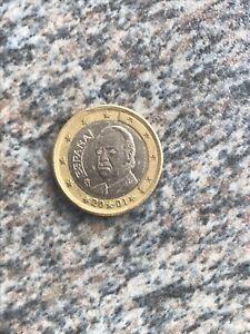 1 Euro Münze Fehlprägung 2001 Spanien Umlauf Münze Ebay