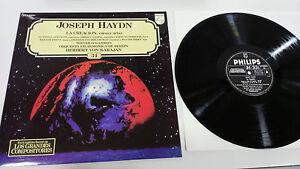 Joseph-Haydn-Die-Erstellung-Karajan-LP-Vinyl-VG-Spanisch-Ed-Philips