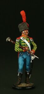 Tin-soldier-Collectible-Tambour-Major-of-Light-Infantry-Reg-54-mm-Napoleonic