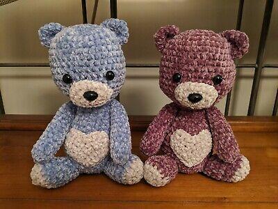 Crochet Valentine's Day Teddy Bear (pt1/3) - YouTube | 300x400