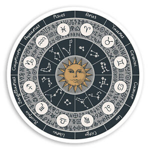 2-x-10cm-Zodiac-Star-Signs-Vinyl-Stickers-Sun-Astrology-Laptop-Sticker-34492