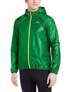 Helly Hansen Men's Feather Lightweight Jacket Emerald Green - Size Choice - BNIP