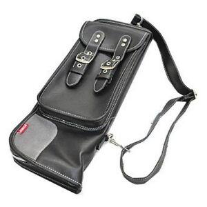 TAMA-Drum-Stick-Shoulder-Bag-Case-with-Hook-Pocket-Black-12-Pair-Sticks